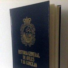 Libros de segunda mano: ARIAS : HISTORIA GENERAL DE AVILÉS Y SU CONCEJO. (PRIMERA EDICIÓN. 1973) GUAFLEX CON ESCUDO DORADO. Lote 60212659
