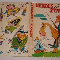 Libros de segunda mano: ÁNGEL PISANI. HÉROES EN ZAPATILLAS. RM76307. . Lote 60522855
