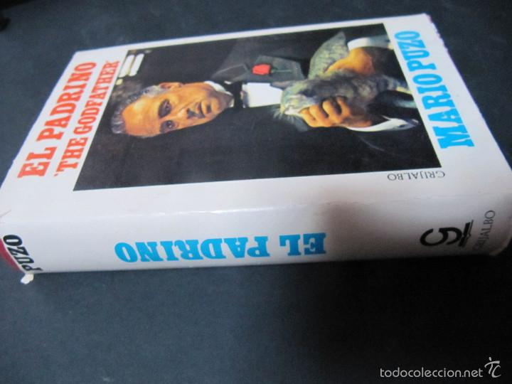 Libros de segunda mano: LIBRO EL PADRINO MARIO PUZO TAPA DURA SOBRECUBIERTA EDICION PELICULA GRIJALBO - Foto 2 - 60625855