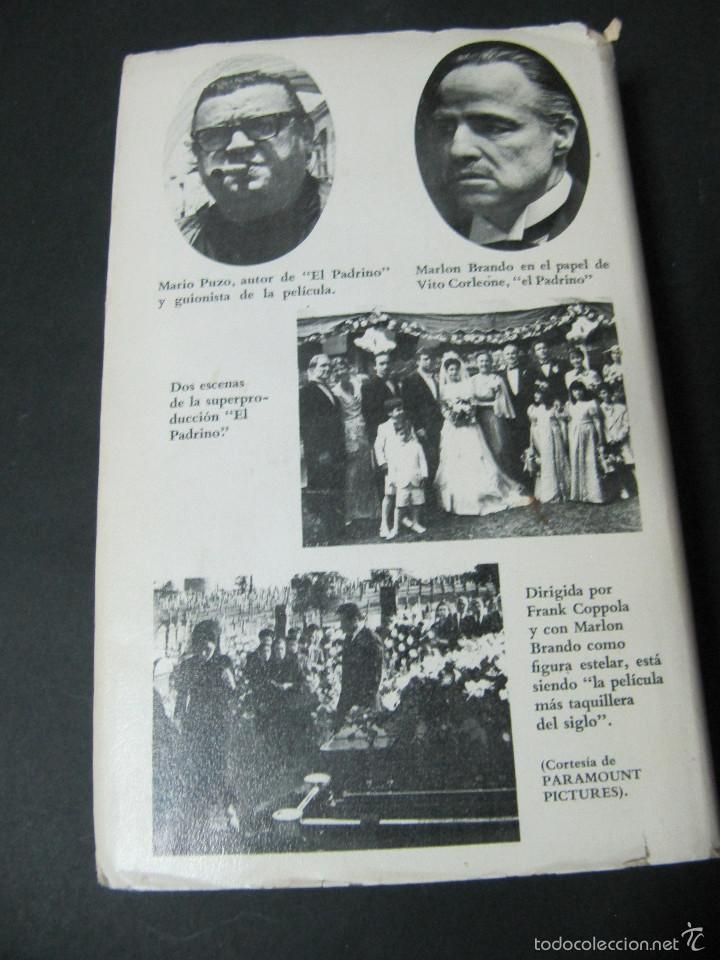 Libros de segunda mano: LIBRO EL PADRINO MARIO PUZO TAPA DURA SOBRECUBIERTA EDICION PELICULA GRIJALBO - Foto 3 - 60625855