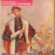 Libros de segunda mano: CONQUISTADORES MOLINO : MAGALLANES Y ELCANO (1942) ILUSTRADO POR JAIME JUEZ. Lote 60628479