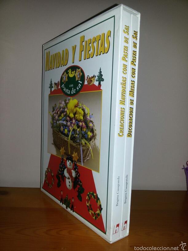 NAVIDAD Y FIESTAS CON PASTA DE SAL / ED. HYMSA 1993 (Libros de Segunda Mano - Bellas artes, ocio y coleccionismo - Otros)