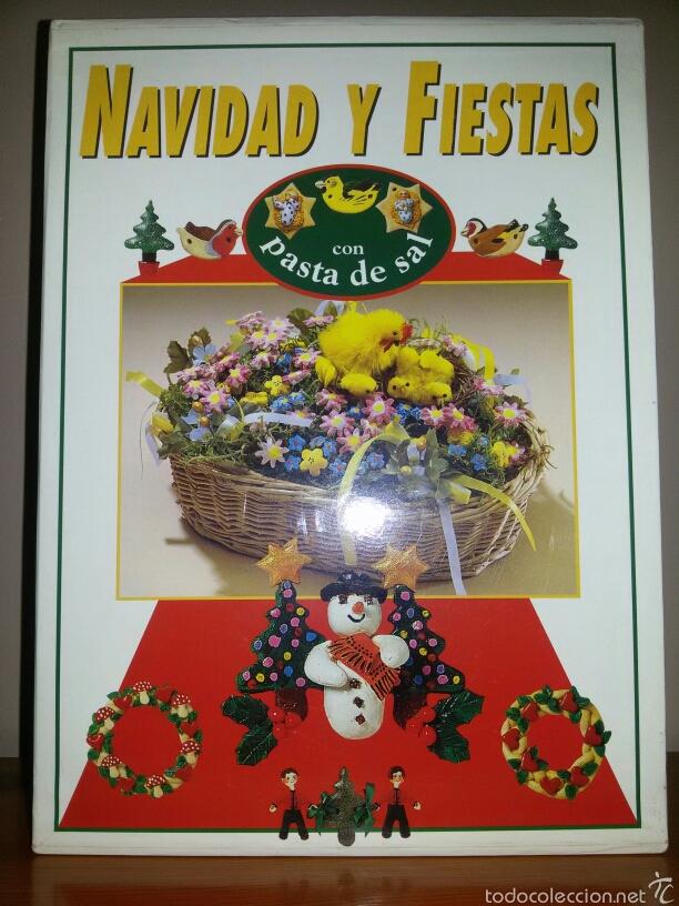 Libros de segunda mano: NAVIDAD Y FIESTAS CON PASTA DE SAL / Ed. Hymsa 1993 - Foto 2 - 60676486