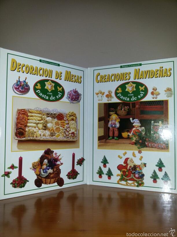 Libros de segunda mano: NAVIDAD Y FIESTAS CON PASTA DE SAL / Ed. Hymsa 1993 - Foto 3 - 60676486