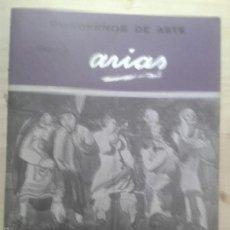 Libros de segunda mano: LIBROS ARTE DIBUJO - ARIAS CUADERNOS DE ARTE MAESTROS CONTEMPORANEOS DEL DIBUJO Y LA PINTURA N 26. Lote 61021303