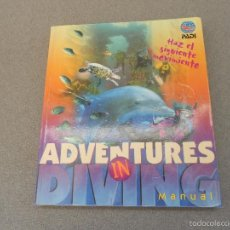 Libros de segunda mano: ADVENTURES IN DIVING. UN CURSO DE BUCEO. Lote 61148895