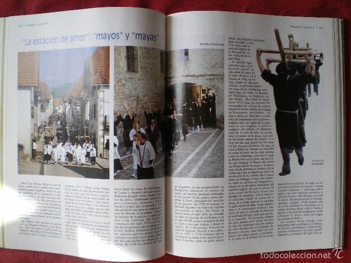 Libros de segunda mano: ETNOGRAFÍA DE NAVARRA. 2 TOMOS LUIS AZPILICUETA. JOSÉ MªDOMENCH. JORGE NAGORE. DIARIO DE NAVARRA - Foto 5 - 61176415