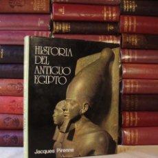 Libros de segunda mano: HISTORIA DEL ANTIGUO EGIPTO. 3 VOLÚMENES. JACQUES PIRENNE. Lote 61178383
