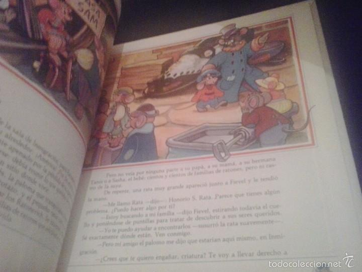 Libros de segunda mano: FIEVEL Y EL NUEVO MUNDO ( MONDADORI) BASADO EN PELICULA DE SPIELBERG. TAPA DURA - Foto 2 - 61213203