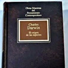 Libros de segunda mano: EL ORIGEN DE LAS ESPECIES CHARLES DARWIN ,PLANETA AGOSTINI. Lote 61277643