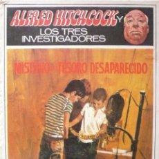 Libros de segunda mano: ALFRED HITCHCOCK / LOS TRES INVESTIGADORES (D-2007). Lote 61331959