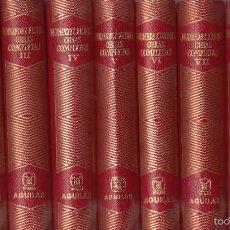 Libros de segunda mano: WENCESLAO FERNÁNDEZ-FLÓREZ. OBRAS COMPLETAS. 9 VOLS. MADRID, 1966.. Lote 61309835