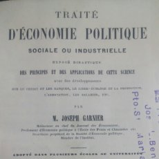 Libros de segunda mano: LIBRO FRANCES ECONOMIA POLITICA 1880. Lote 61423339