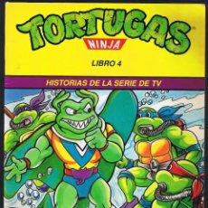 Libros de segunda mano: TORTUGAS NINJA LIBRO 4 - LA VENGANZA DE RAY FILLET. Lote 61496671