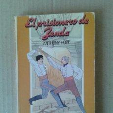 Libros de segunda mano: EL PRISIONERO DE ZENDA, DE ANTHONY HOPE. P.P.P. EDICIONES, 1987. LIBRO JUVENIL CON ILUSTRACIONES.. Lote 61604180