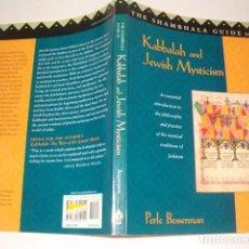 Libros de segunda mano: PERLE BESSERMAN. THE SHAMBHALA GUIDE TO KABBALAH AND JEWISH MYSTICISM. RM76582. . Lote 143259861