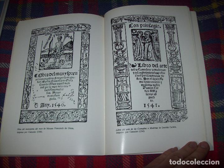 Libros de segunda mano: LA IMPRENTA Y LAS XILOGRAFÍAS DE LOS GUASP. GASPAR SABATER. ESTUDIS BALEÀRICS.1985. MALLORCA - Foto 13 - 61695872