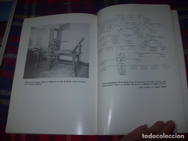 Libros de segunda mano: LA IMPRENTA Y LAS XILOGRAFÍAS DE LOS GUASP. GASPAR SABATER. ESTUDIS BALEÀRICS.1985. MALLORCA - Foto 15 - 61695872
