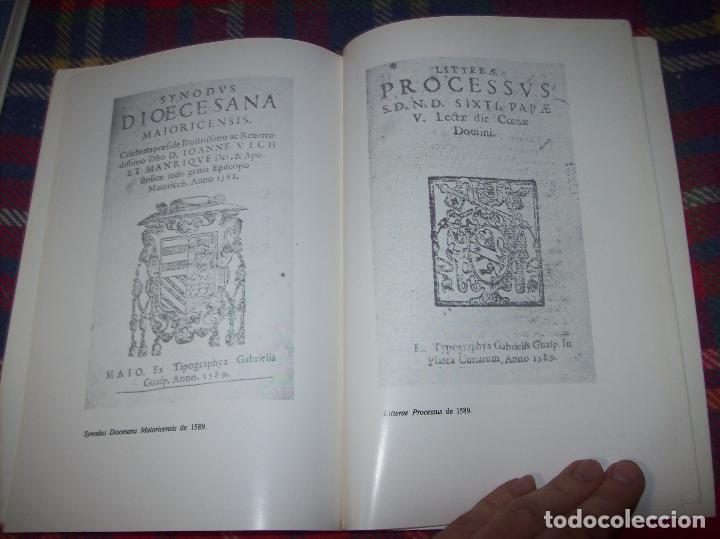 Libros de segunda mano: LA IMPRENTA Y LAS XILOGRAFÍAS DE LOS GUASP. GASPAR SABATER. ESTUDIS BALEÀRICS.1985. MALLORCA - Foto 17 - 61695872