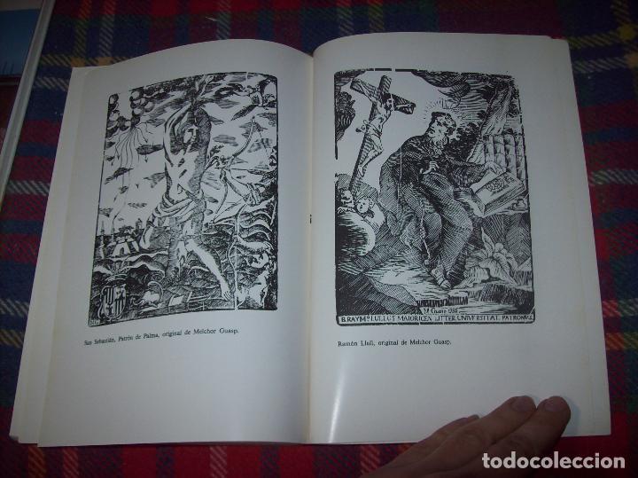 Libros de segunda mano: LA IMPRENTA Y LAS XILOGRAFÍAS DE LOS GUASP. GASPAR SABATER. ESTUDIS BALEÀRICS.1985. MALLORCA - Foto 20 - 61695872