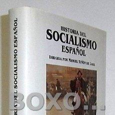 Libros de segunda mano: TERMES, JOSEP / ALQUÉZAR, RAMÓN. HISTORIA DEL SOCIALISMO ESPAÑOL. VOLUMEN 2 (1909-1931), DIRIGIDO PO. Lote 61231521