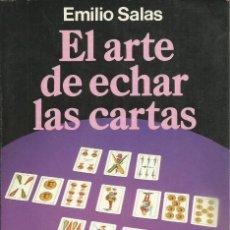 Libros de segunda mano: LIBRO EL ARTE EDE ECHAR LAS CARTAS CARTOMANCIA ESPAÑOLA DE 168 PAGINAS. Lote 295490713