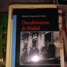Libros de segunda mano: DESCUBRIMIENTO DE MADRID. Lote 61828504