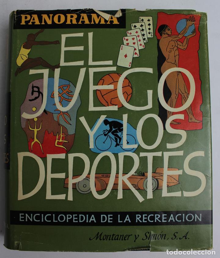 L-3964. EL JUEGO Y LOS DEPORTES, 1967. (Libros de Segunda Mano - Bellas artes, ocio y coleccionismo - Otros)