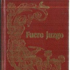 Libros de segunda mano: FUERO JUZGO O LIBRO DE LOS JUECES. 1ª EDICIÓN. EDICIONES ZEUS. BARCELONA. 1968. Lote 62044488