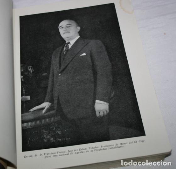Libros de segunda mano: IX CONGRESO INTERNACIONAL INMOBILIARIO MADRID JUNIO 1958, F.I.A.B.C.I., LIBRO ANTIGUO - Foto 3 - 62092656