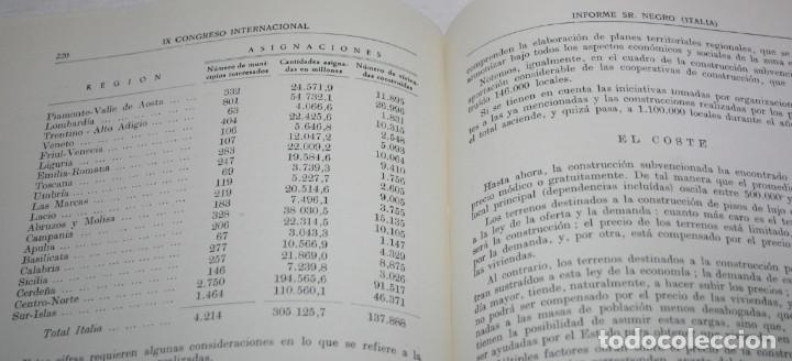 Libros de segunda mano: IX CONGRESO INTERNACIONAL INMOBILIARIO MADRID JUNIO 1958, F.I.A.B.C.I., LIBRO ANTIGUO - Foto 5 - 62092656