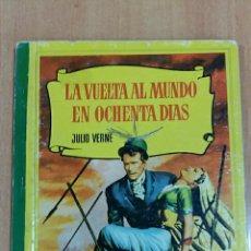 Libros de segunda mano: COLECCION CORINTO. LA VUELTA AL MUNDO EN OCHENTA DIAS, JULIO VERNE 1959. Lote 62167352