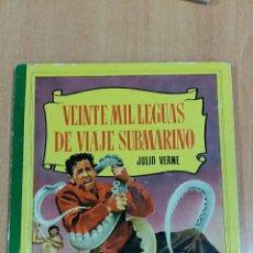 Libros de segunda mano: COLECCION CORINTO. VEINTE MIL LEGUAS DE VIAJE SUBMARINO, JULIO VERNE 1959. Lote 62167424