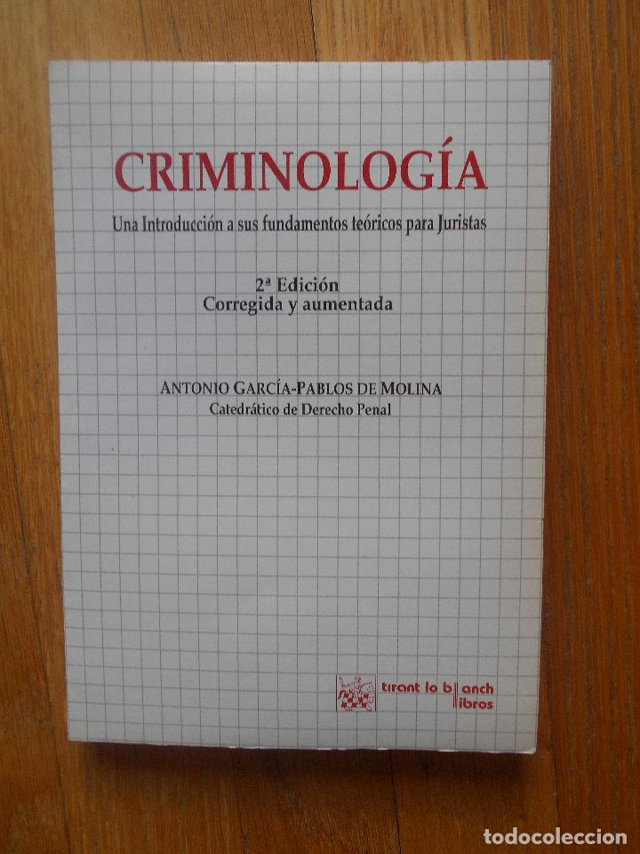 criminologia, una introduccion a sus fundamento - Comprar