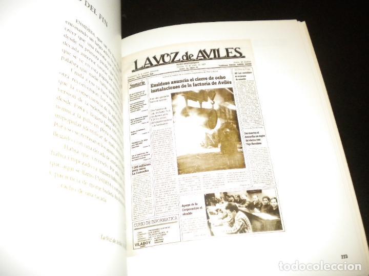 Libros de segunda mano: Cien años en primera pagina historia de la voz de aviles / juan carlos de la madrid - Foto 2 - 62331500