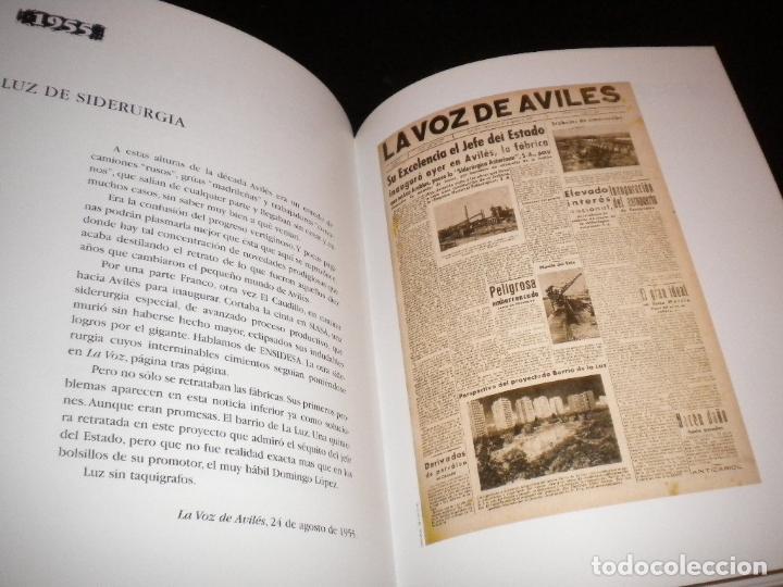 Libros de segunda mano: Cien años en primera pagina historia de la voz de aviles / juan carlos de la madrid - Foto 3 - 62331500