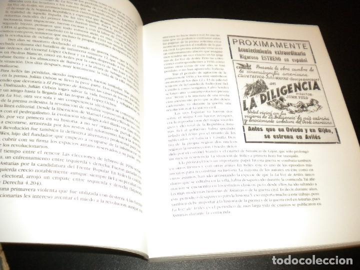 Libros de segunda mano: Cien años en primera pagina historia de la voz de aviles / juan carlos de la madrid - Foto 5 - 62331500