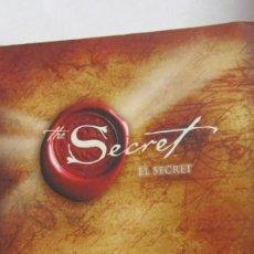 Libros de segunda mano: EL SECRET DE RHONDA BYRNE (ENTRAMAT). Lote 62382788