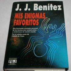 Libros de segunda mano: MIS ENIGMAS FAVORITOS, J. J. BENITEZ, PLAZA & JANES 1993, LIBRO MISTERIO. Lote 62434336