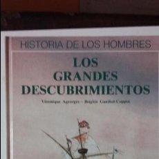 Libros de segunda mano: LOS GRANDES DESCUBRIMIENTOS. Lote 62506996