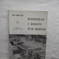Libros de segunda mano: SEGURIDAD E HIGIENE EN EL TRABAJO. Lote 62540396