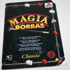 Libros de segunda mano: LIBRO DE MAGIA BORRAS CLASSIC CON MUCHOS TRUCOS. Lote 62555756