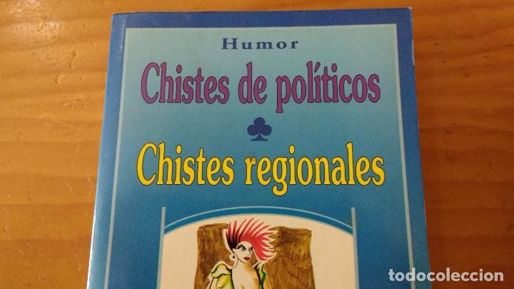 CHISTES DE POLÍTICOS - CHISTES REGIONALES (HUMOR DE I.L.S.D.) (ED. RAYUELA, 1993) 240 PÁGINAS (Libros de Segunda Mano - Bellas artes, ocio y coleccionismo - Otros)