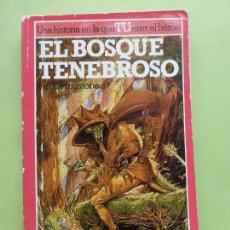 Libros de segunda mano: EL BOSQUE TENEBROSO - ALTEA JUNIOR - LUCHA FICCIÓN Nº 3 - LIBRO JUEGO -. Lote 62757420