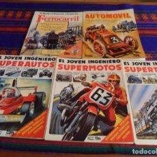 Libros de segunda mano: PLESA SM JOVEN INGENIERO COMPLETA SUPERAUTOS SUPERTRENES SUPERMOTOS REGALO NACIMIENTO AUTOMÓVIL Y.... Lote 62865280