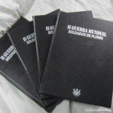 Libros de segunda mano: II GUERRA MUNDIAL SOLDADOS DE PLOMO 1998 RBA 4 TOMOS COMPLETO. Lote 62909340