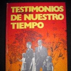 Libros de segunda mano: EMILIO ROMERO, CARTAS AL REY. TESTIMONIOS DE NUESTRO TIEMPO. EDIT. PLANETA. 1973. 397PAGS. 24,5X18CM. Lote 63103836