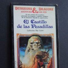 Second hand books - CATHERINE MAC GUIRE. EL CASTILLO DE LAS PESADILLAS. TIMUN MAS DUNGEONS & DRAGONS AVENTURA SIN FIN - 63220552