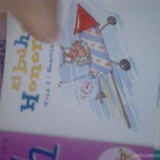 Libros de segunda mano: MIS PRIMERAS LETRAS. EL BUHO HONORIO. Lote 63279140
