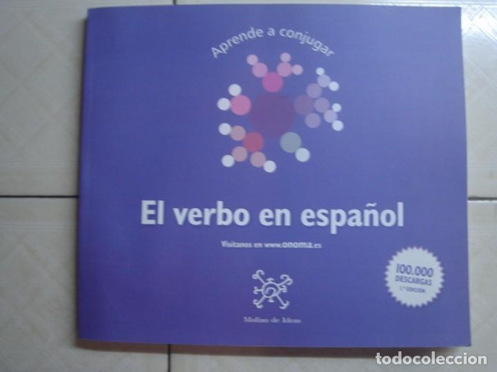 APRENDE A CONJUGAR. EL VERBO EN ESPAÑOL. MOLINO DE IDEAS, 2012 (Libros de Segunda Mano - Ciencias, Manuales y Oficios - Otros)
